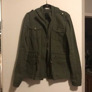 Maurices Army Green Jacket